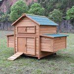"""Zoopplier Hühnerstall Hühnerhaus Chickenhouse Nr. 02""""Gluckshaus mit legebox und Wanne"""