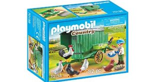 Playmobil 70138 Country Mobiles Huehnerhaus bunt 310x165 - Playmobil 70138 Country Mobiles Hühnerhaus, bunt